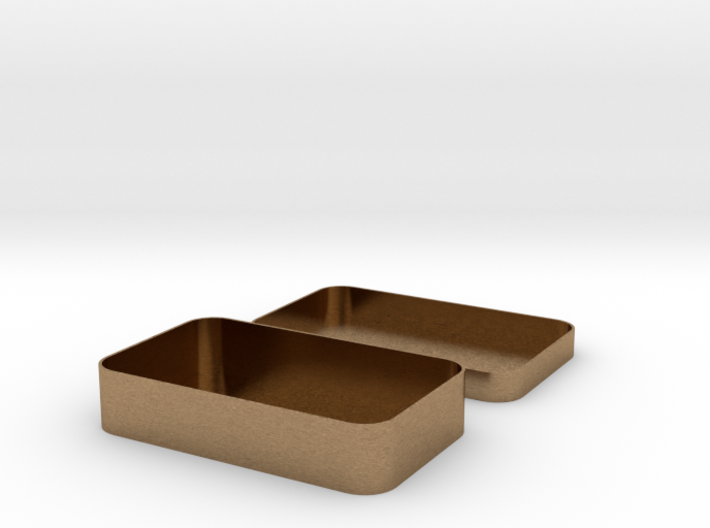 Parametric Rounded Box 3d printed
