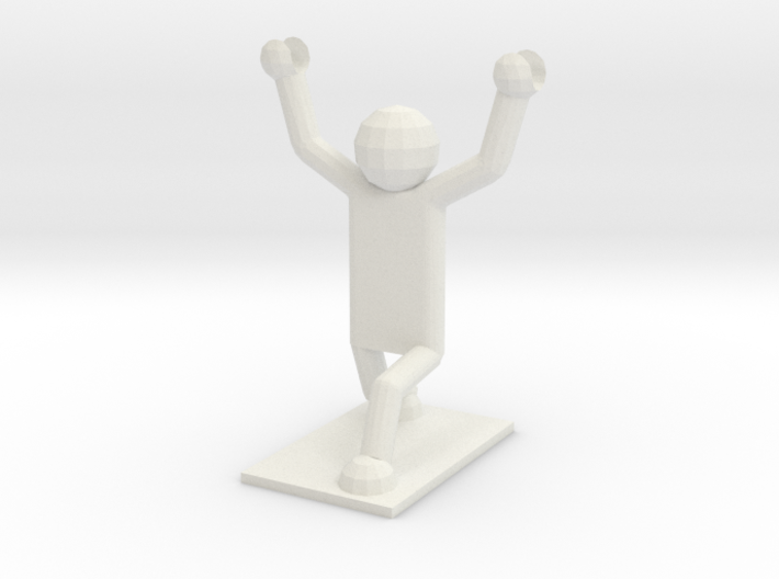 Weightlifter Pencil Holder 3d printed