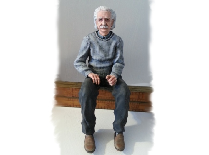 Customizable Albert 3d printed I've already painted this print