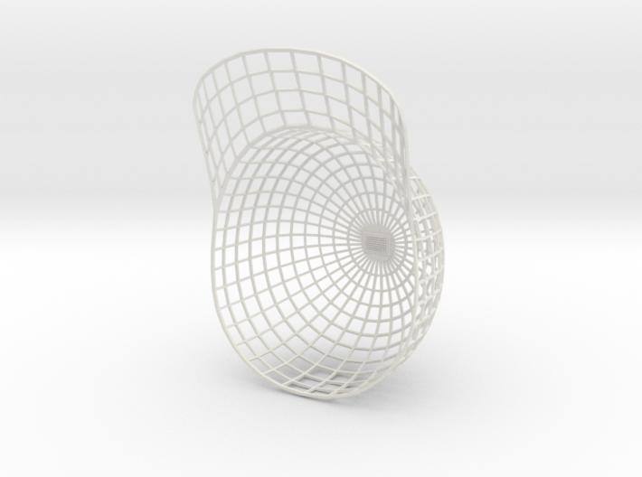 Vortex Hat -  Medium 3d printed