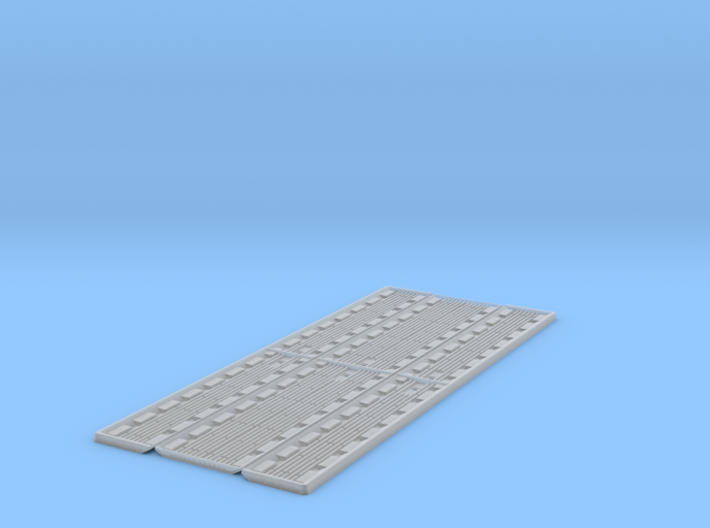 O Scale Spill Containment Track Pan 3d printed