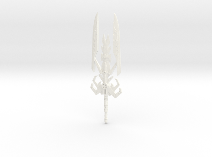 Snake Armor Sword 3d printed