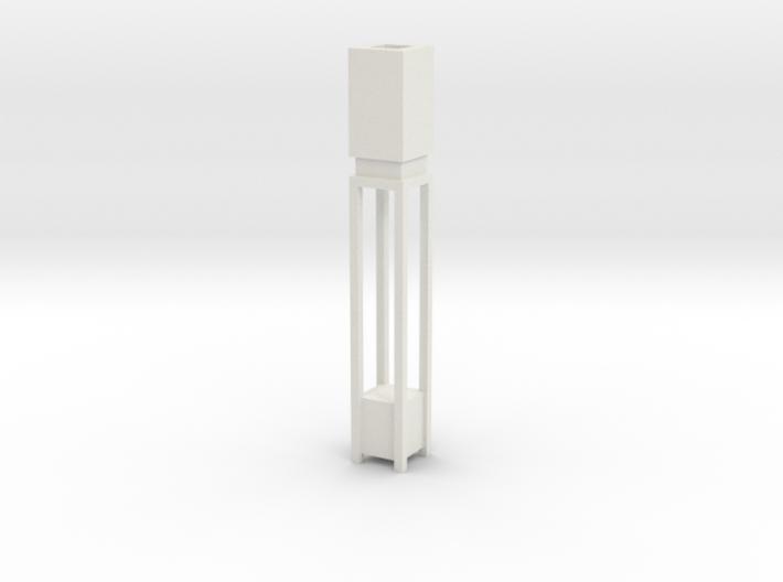 1:48 Deco Square Floor Lamp 3d printed