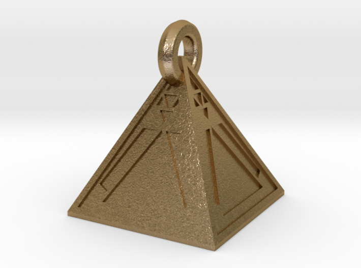 Limited Edition Sith Holocron Keychain 3d printed