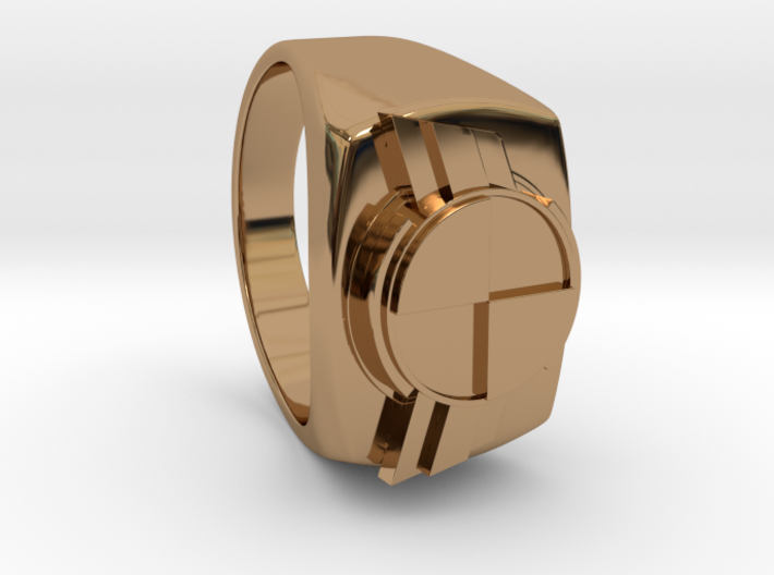 "Test Squadron - Signet Ring - Version2.0 ""Size 9"" 3d printed"