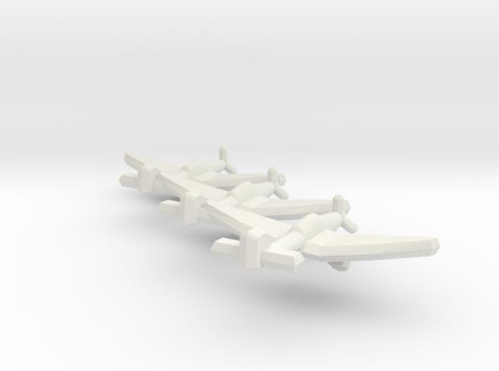 Junkers Ju 87D-5 1:900 (Triplet) 3d printed