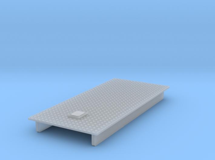 Dach für Alte Herpa AB's mit Krähenfussplatte + Da 3d printed