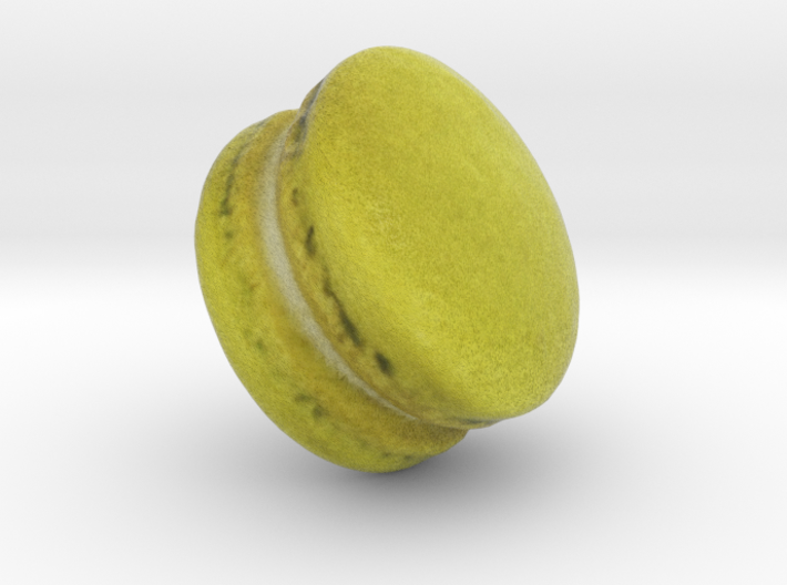 The Pistachio Macaron-2 3d printed