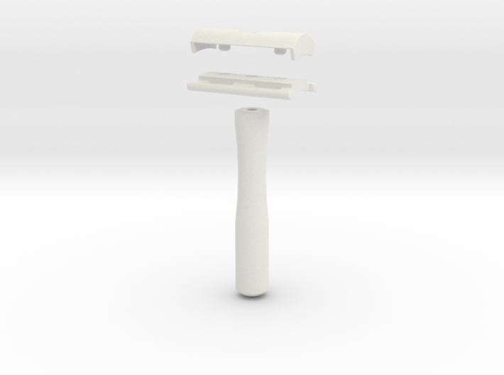 Genisys Safety Razor 3d printed