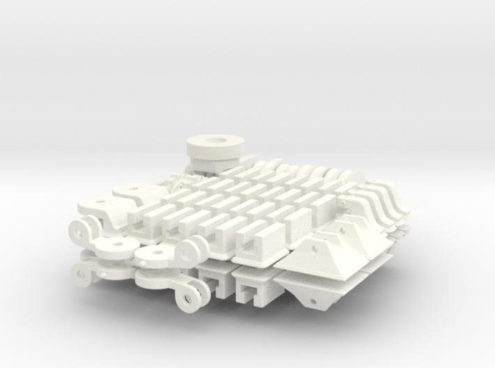 1-16 T95 Hvy Tank Small Parts 3d printed
