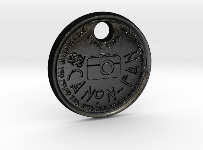 ZWOOKY Style 111 Sample - keychain I love Canon 3d printed