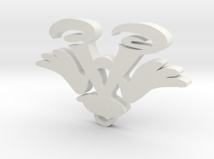Imas pendant 3d printed
