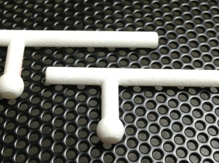 Tonfa Set for ModiBot 3d printed Tonfa Set for ModiBot