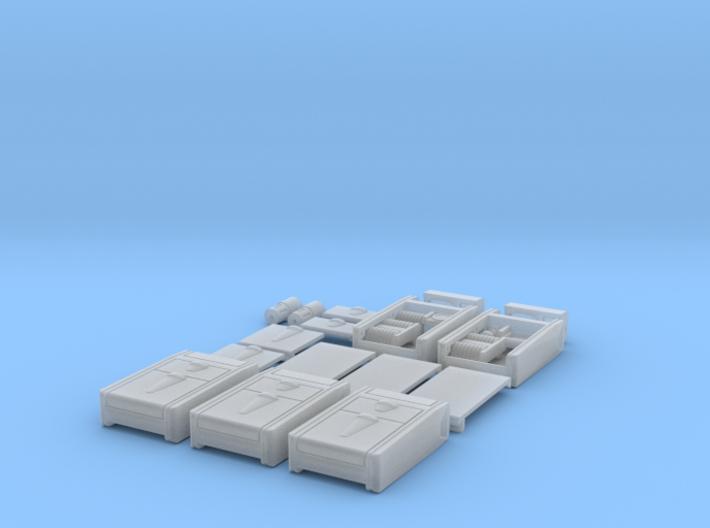 1:6 environment scanner detail plastic 3d printed