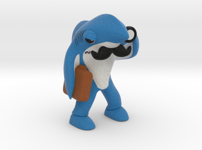 Left Shark Lawyer 3d printed