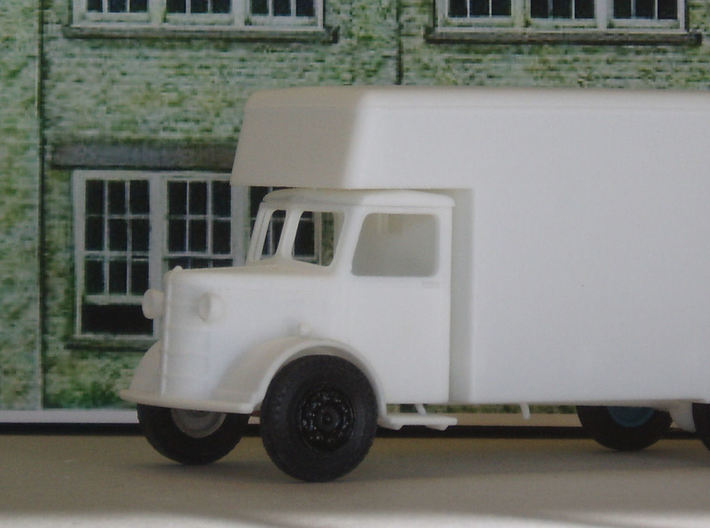1:43 Bedford Luton Body  3d printed Fitted to Bedford OL