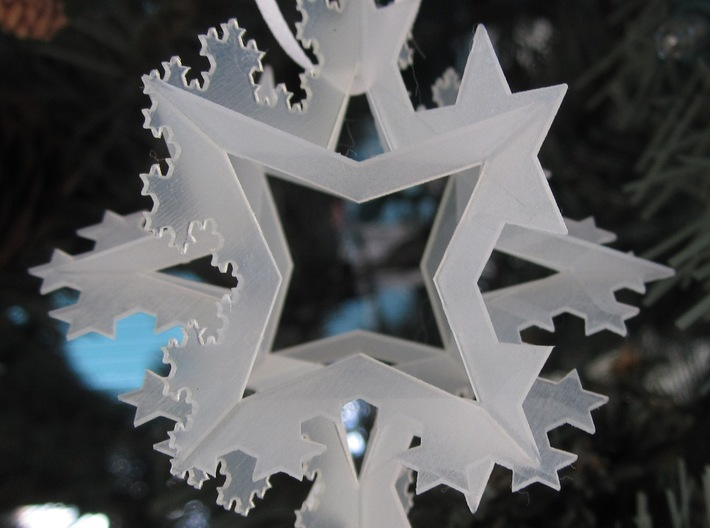 Koch Ornament, FUD 3d printed Ornament on a tree(1)