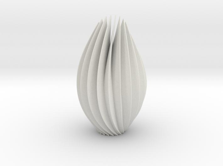 9 inch twist sculpture 3d printed