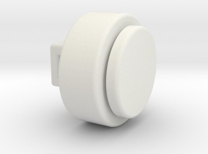 Cartoon sew on Eye - 0.5 mm between parts 3d printed