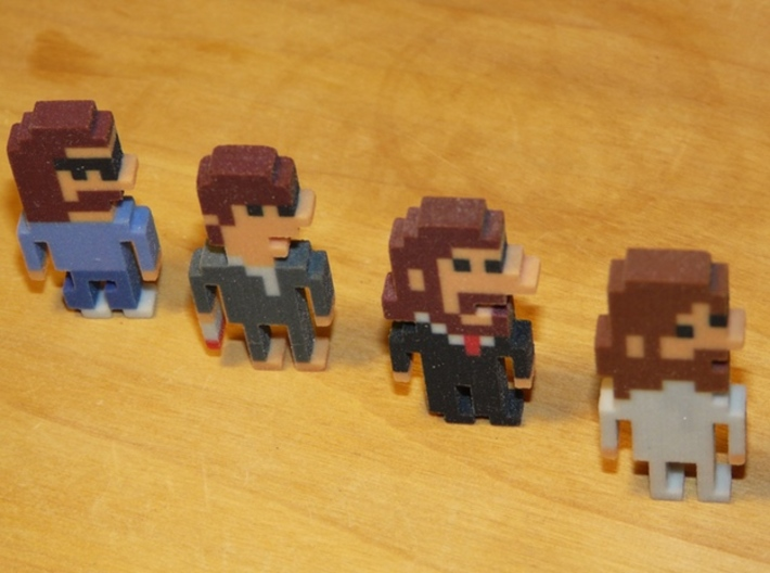 Beatles George iotacon (Abbey Road) 3d printed