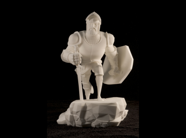 TheKnight (Large) 3d printed