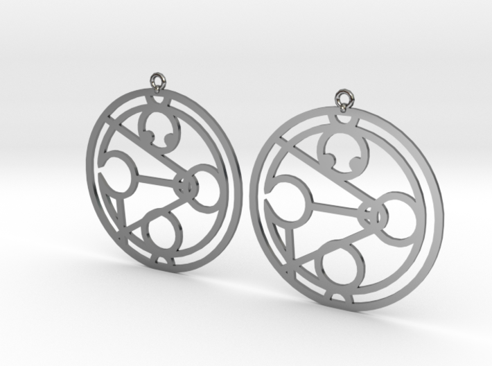 Jamocah - Earrings - Series 1 3d printed