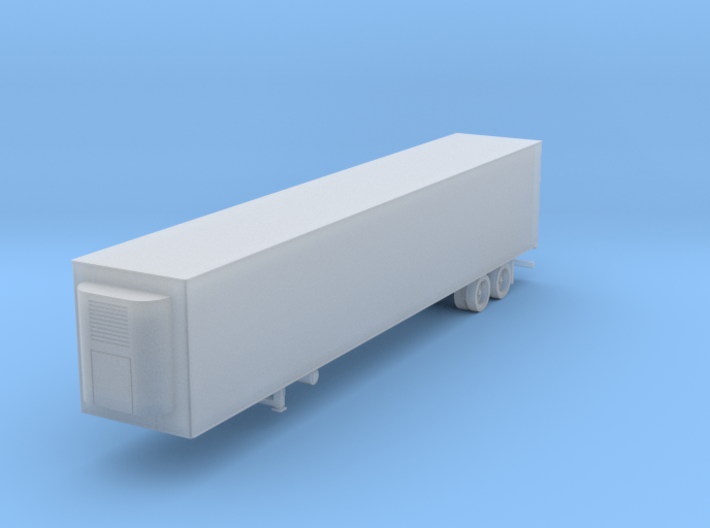 53' Reefer Swing Door 3d printed