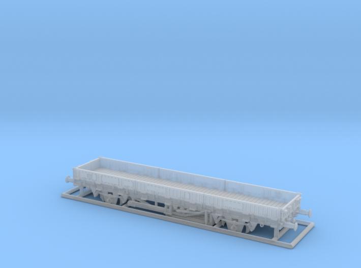 TT Fährboot-Rungenwagen Rbmms55 der DB 3d printed