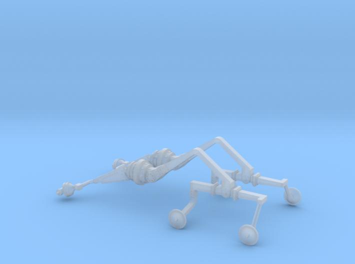 Mars Rover Suspension Arm 1:10 3d printed