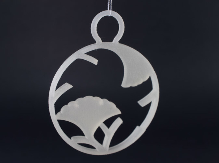"""Ichoedamaru"" Japanese single ornament 3d printed"