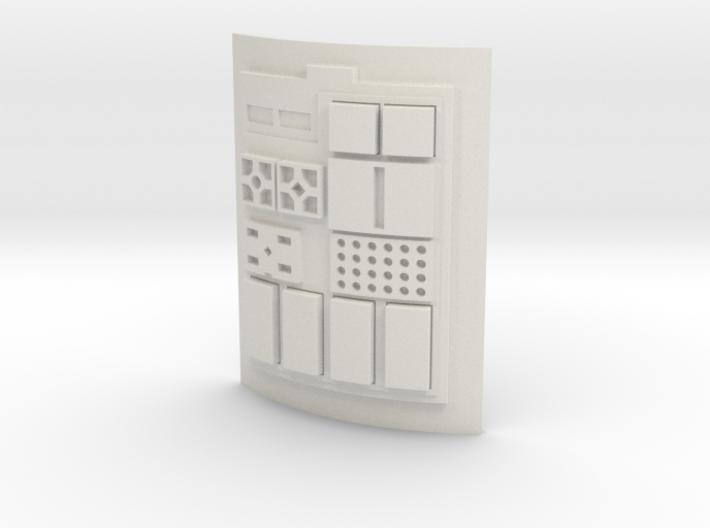 Comm pad - T2 3d printed