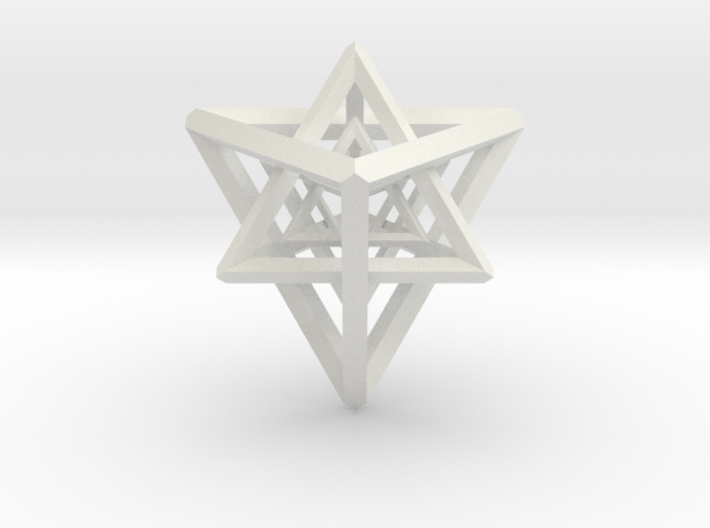 Nested Tetrahedrons Sculpture 3d printed