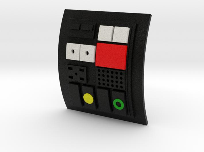 Comm pad - Crew 02 3d printed