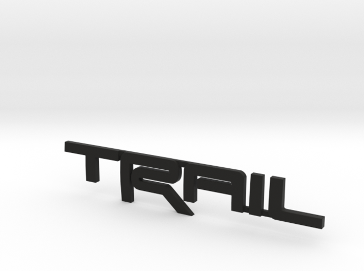 Trail Emblem Revision 02 3d printed