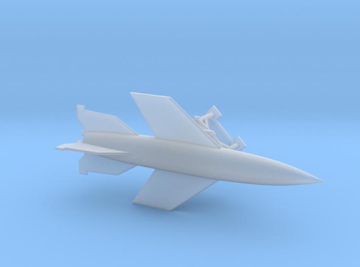 German A4B Rocket 1/285 6mm 3d printed