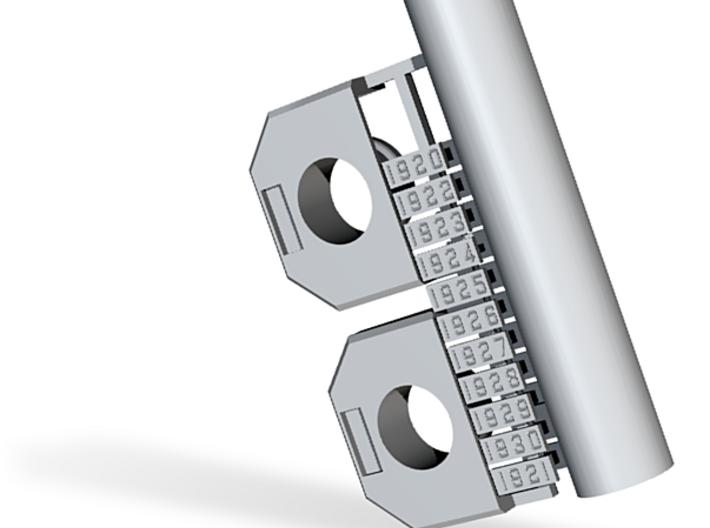 CNR/PEIR N Scale Concrete Single Culverts 3d printed