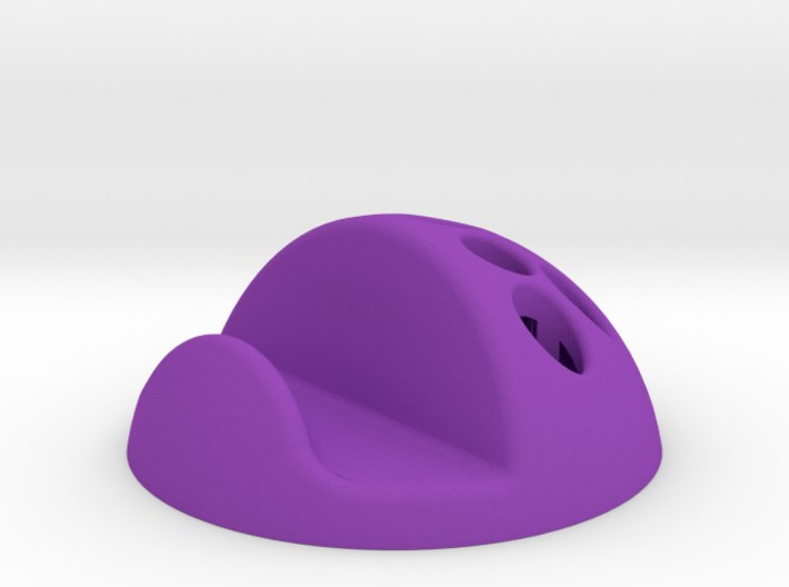 Support smartphone / 9 crayons (boule) 3d printed
