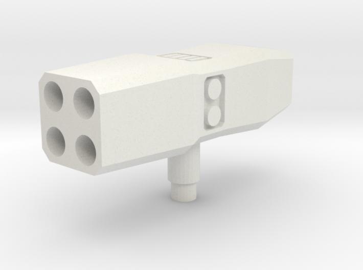 Rocket Lancher Mk2 3d printed