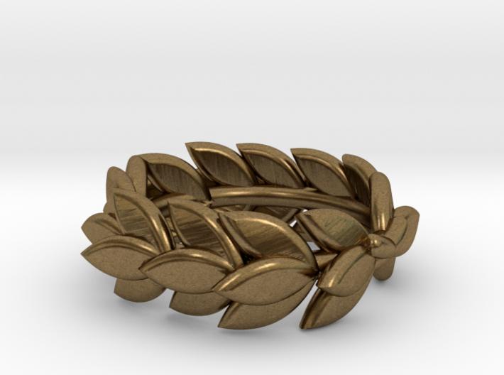 Laurel crown charm, Trollbeads compatible 3d printed