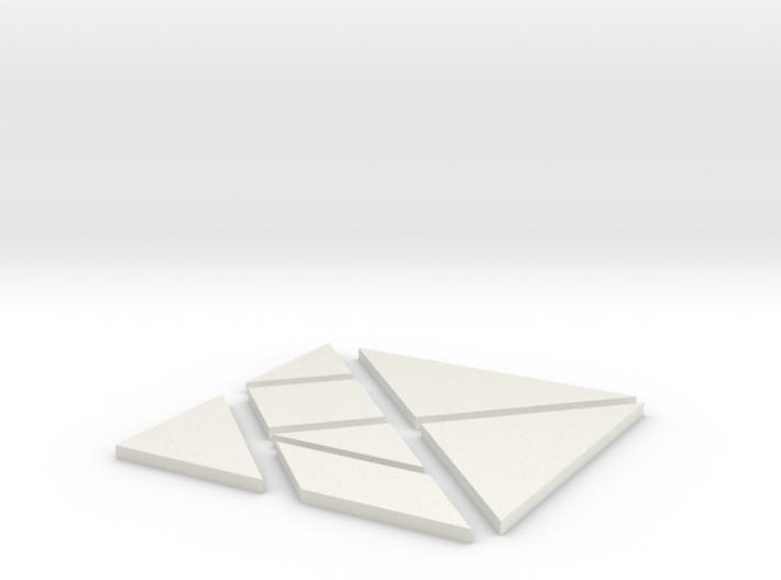 Tangram 3d printed