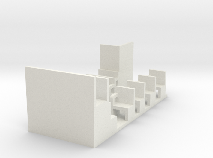 HOn30 Interior for F&C Combine [E] 3d printed