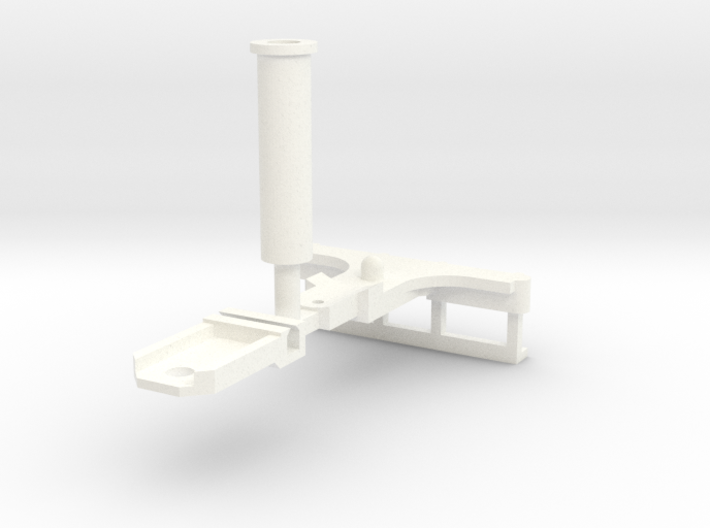 Parts to convert F&C loco to 2-4-0 [set A] 3d printed