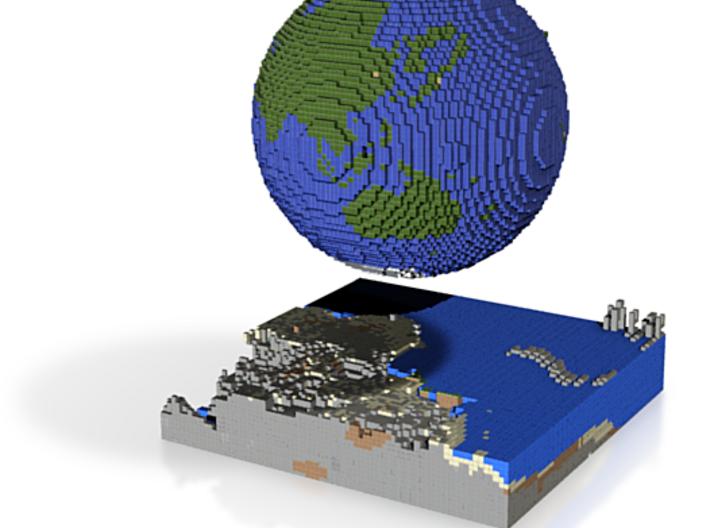 Globe/Earth 3d printed