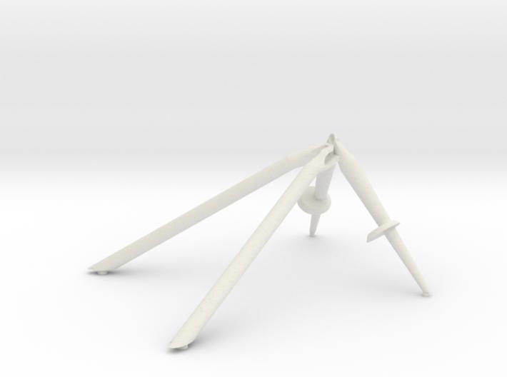 +Z-Landing Gear Outrigger 3d printed
