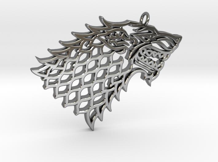Stark Pendant 3d printed