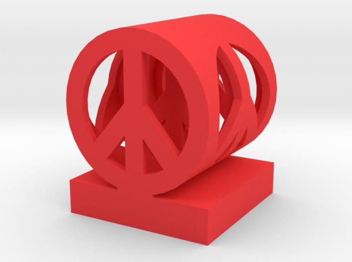 Peace in peace medium 3d printed