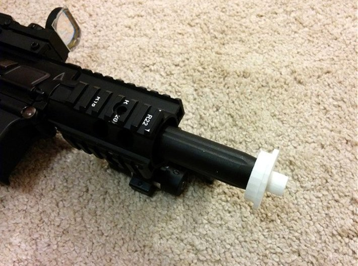 Patriot M4 Silencer Adapter 3d printed