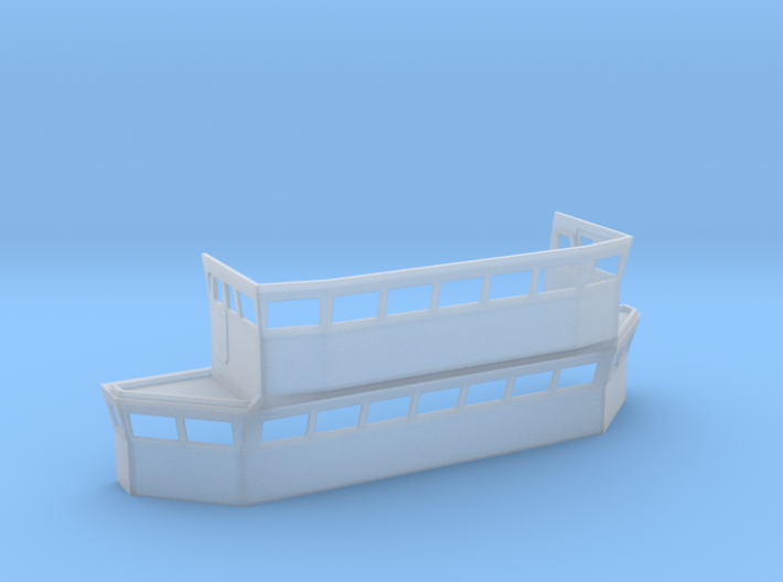 HMS Blake Bridge 1/96 3d printed