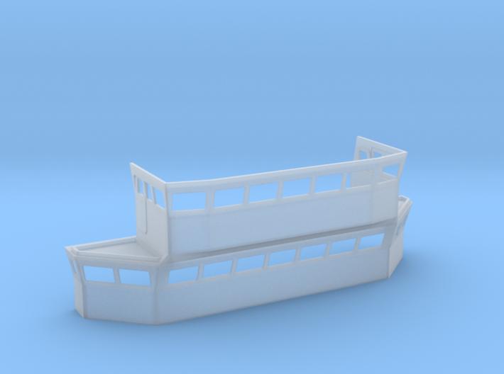 HMS Blake Bridge 1/96 3d printed