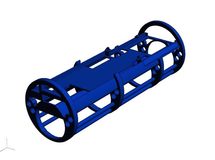 GCM124-01-CF/PC - CF8 or PC3.5 + CEX + 18650  3d printed